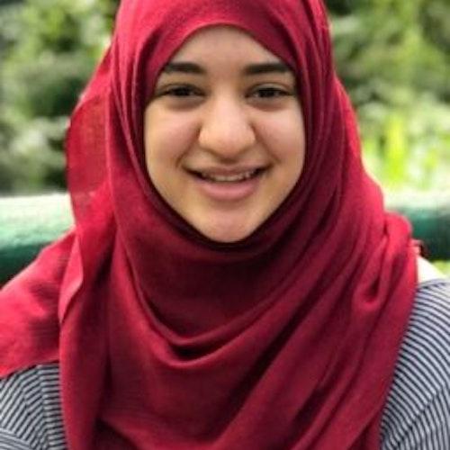 Foto do rosto de Leena Abdelmoity, consultora adolescente de 2018-2019