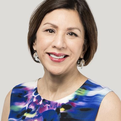 Rita Rodriguez, Conselho Consultivo (foto de perto, tendo um plano de fundo levemente acinzentado)