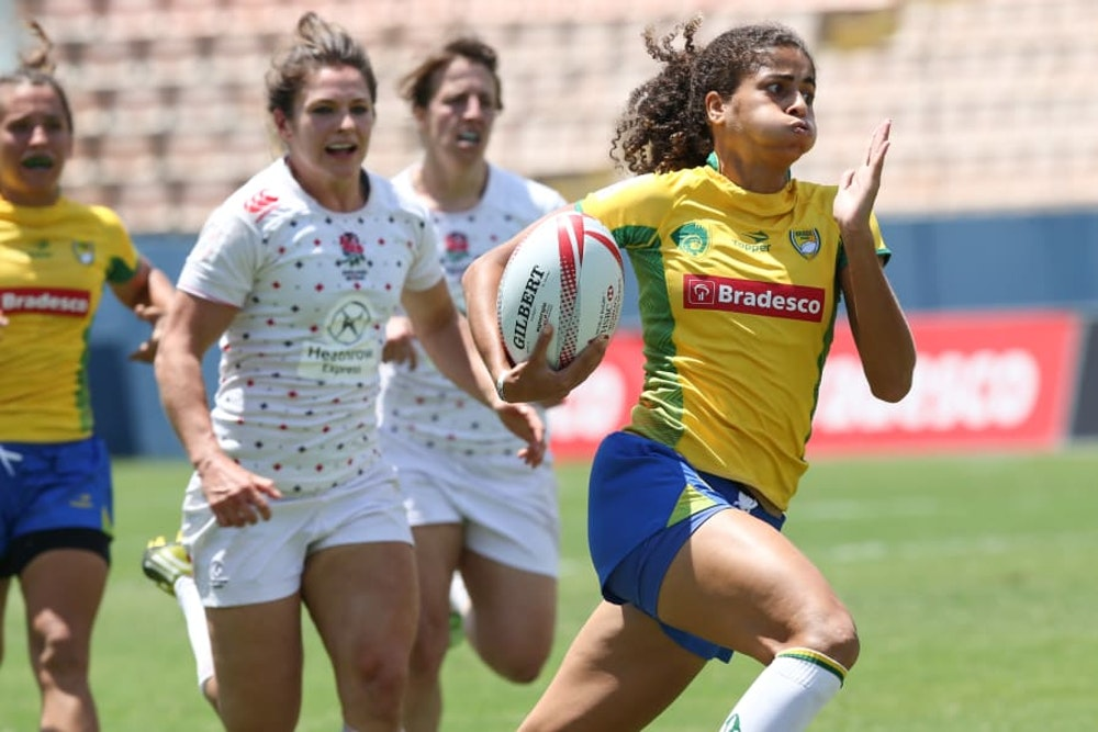 (girl sport) a brazil rugby women in their competition