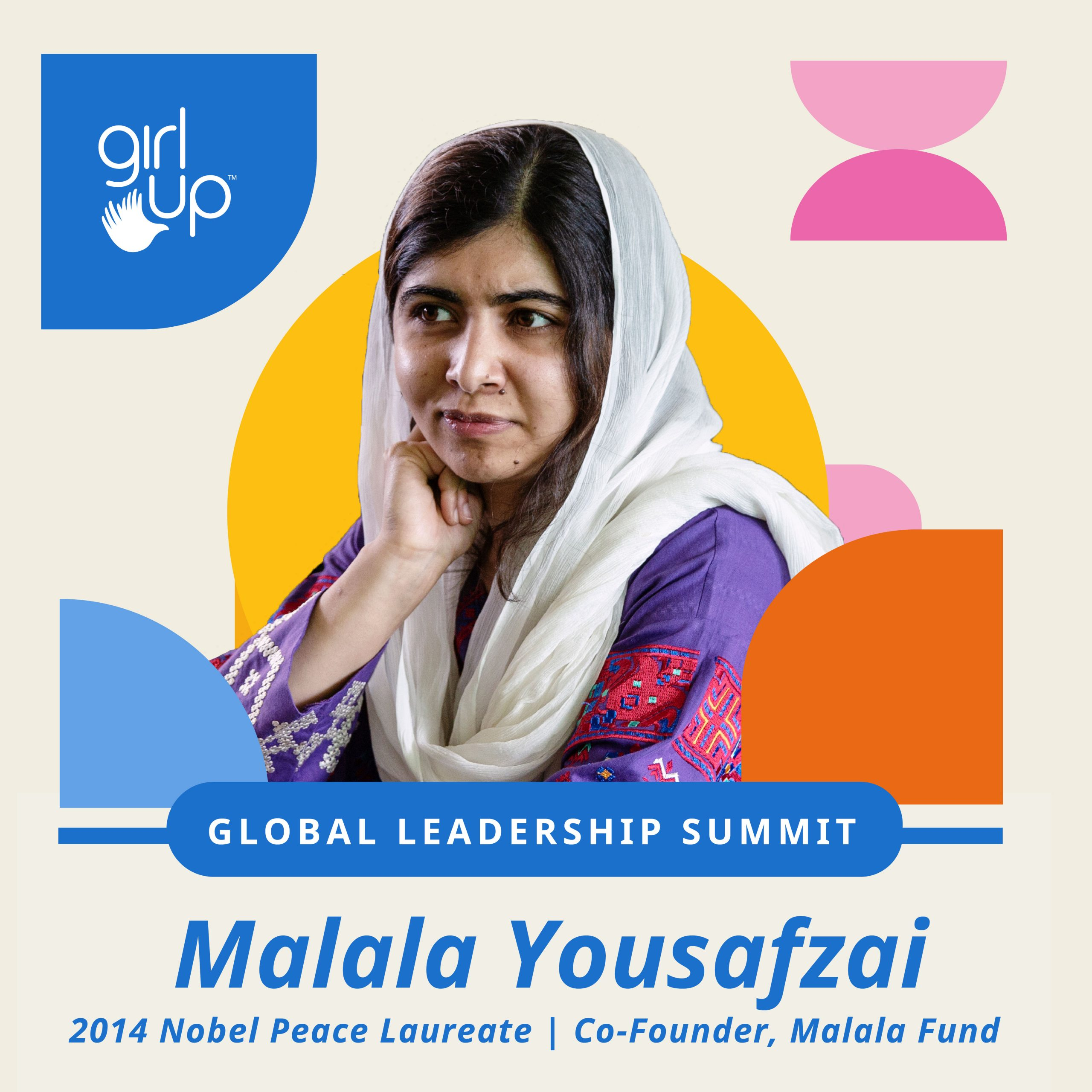 Malala is an advocate for girls' education