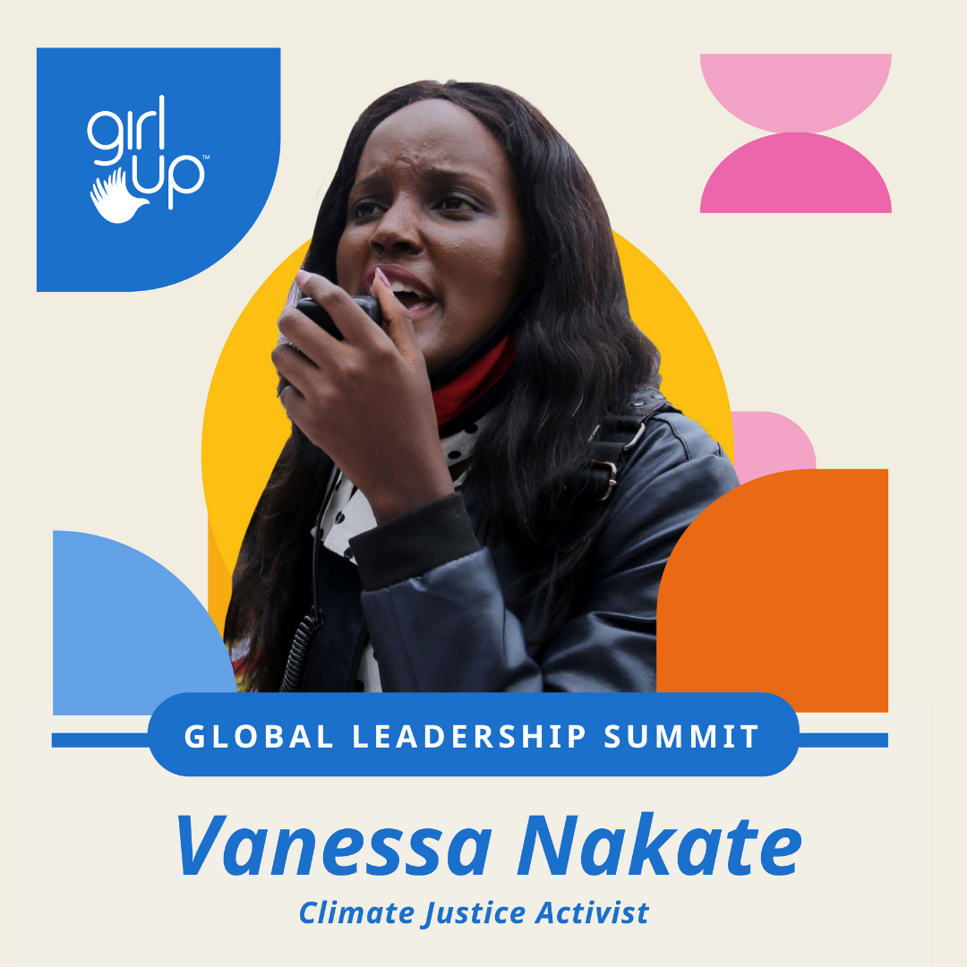 Vanessa Nakate is a Ugandan climate justice activist